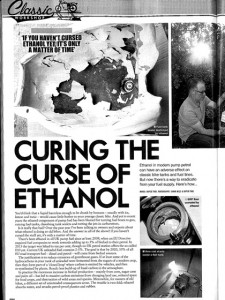Curing the Curse of Ethanol